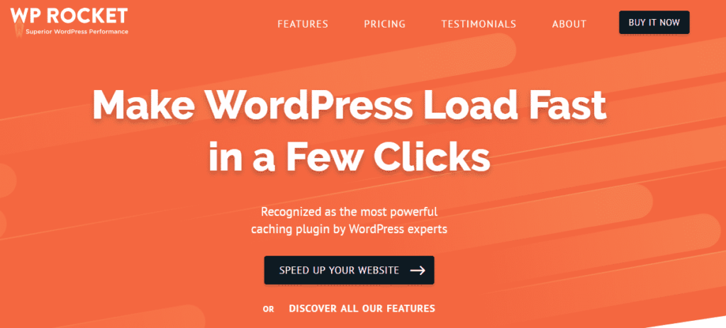 Registration for WP Rocket: WordPress's Best Caching Solution